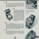 1956 Ulysse Nardin Watch Company Switzerland Vintage 1956 Swiss Ad Suisse Advert