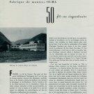 Numa Jeannin SA Olma Watch Company 50th Anniversary 1956 Swiss Magazine Article