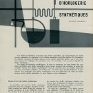 Les Huiles d'Horlogerie Synthetiques - by Paul Ducommun 1956 Swiss Magazine Article Horology Suisse