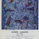 1984 Alden Mason Napoleon 1984 Art Exhibition Ad Advert Greg Kucera Gallery