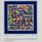 Yaacov Agam Black Hole Advert Spacegraph 1984 Art Ad Advert Advertisement