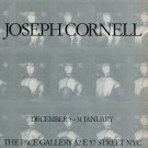 Joseph Cornell Vintage 1986 Art Exhibition Ad Advert The Pace Gallery NY