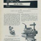 H. Jendritzki Modern Watchmaker Part XVII 1957 Swiss Magazine Article Horology