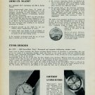 1957 Lavina Watch Company Cortebert EternaNew Calibre Models 1957 Swiss Magazine Article