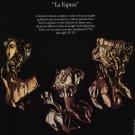 Sculptor Alvar Vintage 1984 Art Ad Advert La Espera Advertisement