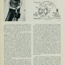 1957 Hamilton Watch Company Interview Marius Lavet 1957 Swiss Magazine Article Suisse