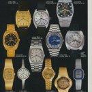 Bulova Watch Company Switzerland Vintage 1974 Swiss Ad Suisse Advert Horology