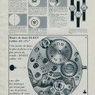 Buren Watch Company Switzerland Vintage 1964 Swiss Ad Suisse Advert Horology