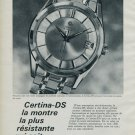 Certina Watch Company Vintage 1964 Swiss Ad Suisse Advert Kurth Freres S.A.