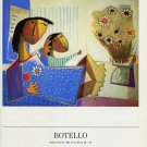 Botello Vintage 1986 Art Ad Publicite Advert Mother & Child Advertisement