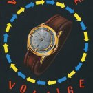 1954 Delbana Watch Company Delbana Voltige Advert 1954 Swiss Ad Suisse Advert
