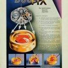1954 DuoFix Parechoc Sentier Switzerland 1954 Swiss Ad Suisse Advert Horology Horlogerie