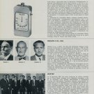 Bulova Watch Company, Wostep, Neslein & Co., Relhor 1968 Swiss Magazine Article