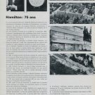 1968 Hamilton Watch Company 75th Anniversary 75 Ans 1968 Swiss Magazine Article