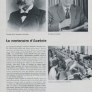 1968 Aureole Watch Company 100 Year Anniversary 1968 Swiss Magazine Article