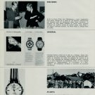 Atlantic Watch Company Mido Favre-Leuba Juvenia 1968 Swiss Magazine Clipping