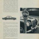 1959 Memopark Stationnement Sans Soucis Swiss Magazine Article Beaumann & Cie SA
