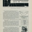 Revue 1958 Horology Inventions Patents Brevets Suisses Horlogerie 1959 Swiss Magazine Article