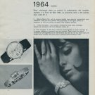 1964 Foire de Bale Swiss Watch Fair Vintage 1964 Swiss Magazine Clipping Basle Switzerland Suisse