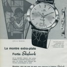 1964 Fortis Watch Company Fortis Skylark Advert Vintage 1964 Swiss Ad Suisse Advert Switzerland