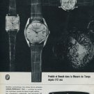 1964 Girard-Perregaux Watch Company Switzerland Vintage 1964 Swiss Ad Suisse Advert