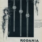 1964 Rodania Watch Company Grenchen Switzerland 1964 Swiss Ad Suisse Advert Horology