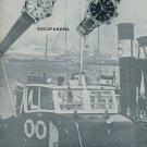 1964 Mulco Watch Company Mulco Escafandra Advert Vintage 1964 Swiss Ad Suisse Advert