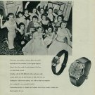 1957 Grandia Watch Company Neuchatel Switzerland Vintage 1957 Swiss Ad Suisse Advert