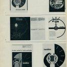1959 Incabloc La Campagne Incabloc Vintage 1959 Swiss Magazine Article Suisse Horlogerie