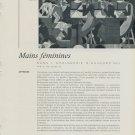 1959 La Femme et la Montre Vintage 1959 Swiss Magazine Article Suisse Horlogerie Horology