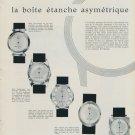 1959 La Boite Etanche Asymetrique Swiss Magazine Article Horology Horlogerie