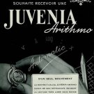 1951 Juvenia Watch Company Arithmo Vintage 1951 Swiss Ad Switzerland Suisse Advert Horlogerie
