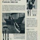 1963 Universal Watch Company Universal Geneve Switzerland 1963 Swiss Ad Suisse Advert
