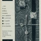 1963 Enicar Watch Company Switzerland Vintage 1963 Swiss Ad Suisse Advert 50 Ans Horlogerie Horology