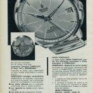 1963 Gruen Watch Company Switzerland Power Date Vintage 1963 Swiss Ad Suisse Advert Horology