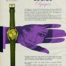 1963 Zodiac Watch Company Zodiac Olympos Advert Vintage 1963 Swiss Ad Suisse Advert Switzerland