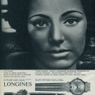 1963 Longines Watch Company Vintage 1963 Swiss Ad Suisse Advert Horlogerie Horology Switzerland