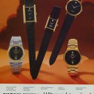 1976 Wittnauer Watch Company Diamond Award Vintage 1976 Swiss Ad Suisse Advert Horology Horlogerie