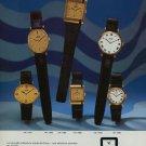 1976 Camy Watch Company Geneva Switzerland Vintage 1976 Swiss Ad Suisse Advert Horlogerie Horology