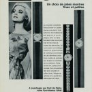 1967 Felca Watch Company Felca & Titoni AG Switzerland 1967 Swiss Ad Suisse Advert Horology