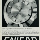 1967 Enicar Watch Company Switzerland Vintage 1967 Swiss Ad Suisse Advert Sherpa Star