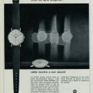 1967 Favre-Leuba Watch Company Geneva Switzerland 1967 Swiss Ad Suisse Advert Horlogerie Horology