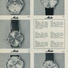 1967 Mido Watch Company G. Shaeren & Co SA Bienne Switzerland Vintage 1967 Swiss Ad Suisse Advert