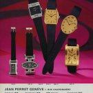 1976 Jean Perret Watch Company Geneva Switzerland 1976 Swiss Ad Suisse Advert Horlogerie Horology