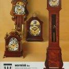 1976 Warmink Clock Company Wuba 1976 Swiss Ad Suisse Advert Horlogerie Horology
