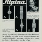 1967 Alpina Watch Company Alpina Union Horlogere SA 1967 Swiss Ad Suisse Advert Horlogerie Horology