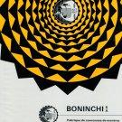 1967 Boninchi SA 50th Anniversary Vintage 1967 Swiss Ad Suisse Advert Horlogerie Horology