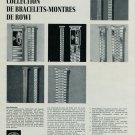 1967 RoWi Rodi & Wienenberger AG 1967 Swiss Ad Suisse Advert Horlogerie Horology
