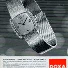 1967 Doxa Watch Company Le Locle Switzerland Vintage 1967 Swiss Ad Suisse Advert Horlogerie Horology