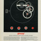 1967 Girocap Portescap Company 1967 Swiss Ad Suisse Advert Horlogerie Horology